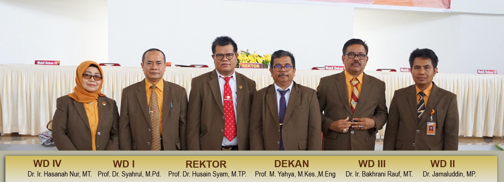 Rektor dan Pimpinan